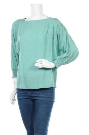 Γυναικεία μπλούζα Kaffe, Μέγεθος M, Χρώμα Πράσινο, Βισκόζη, Τιμή 22,20€