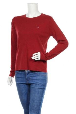 Γυναικεία μπλούζα Levi's, Μέγεθος L, Χρώμα Κόκκινο, 100% βαμβάκι, Τιμή 25,97€