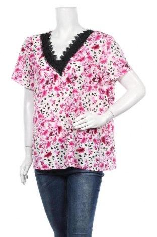 Дамска блуза Liz Jordan, Размер XL, Цвят Многоцветен, 97% полиестер, 3% еластан, Цена 9,45лв.