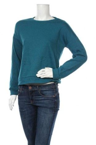 Дамска блуза Miss Shop, Размер S, Цвят Син, 65% полиестер, 35% памук, Цена 28,93лв.