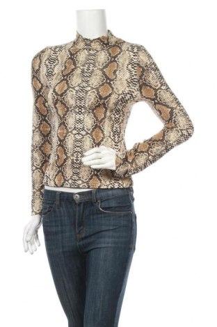 Дамска блуза SHEIN, Размер M, Цвят Многоцветен, 93% полиестер, 7% еластан, Цена 7,56лв.