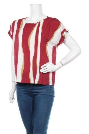 Дамска блуза SHEIN, Размер L, Цвят Червен, Полиестер, Цена 6,25лв.