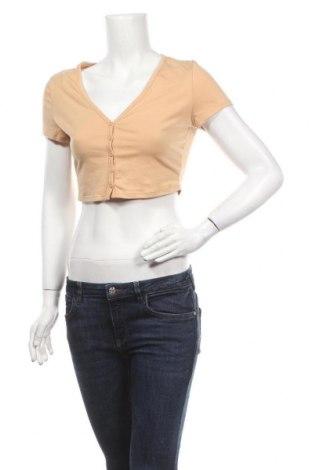 Дамска блуза SHEIN, Размер M, Цвят Бежов, Цена 5,88лв.