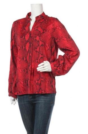 Дамска блуза SHEIN, Размер XL, Цвят Червен, 97% полиестер, 3% еластан, Цена 8,51лв.