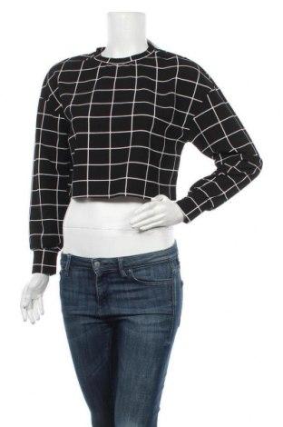 Дамска блуза SHEIN, Размер XS, Цвят Черен, 95% полиестер, 5% еластан, Цена 8,93лв.