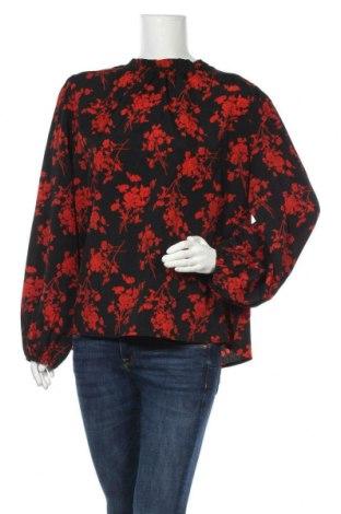 Дамска блуза SHEIN, Размер 3XL, Цвят Черен, Полиестер, Цена 13,23лв.