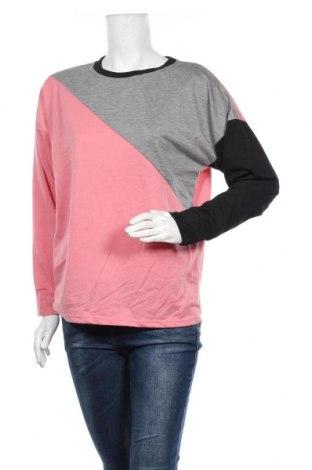 Дамска блуза SHEIN, Размер S, Цвят Многоцветен, 65% полиестер, 35% памук, Цена 12,60лв.