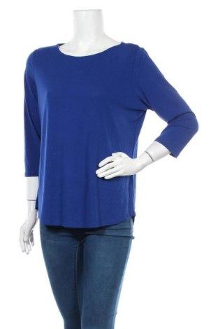 Γυναικεία μπλούζα Suzanne Grae, Μέγεθος M, Χρώμα Μπλέ, Πολυεστέρας, ελαστάνη, Τιμή 4,32€