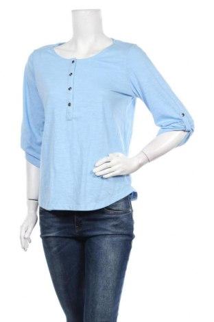 Γυναικεία μπλούζα Suzanne Grae, Μέγεθος S, Χρώμα Μπλέ, Πολυεστέρας, βαμβάκι, Τιμή 4,32€