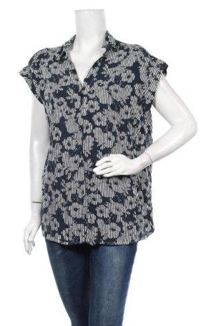 Γυναικεία μπλούζα Suzanne Grae, Μέγεθος XL, Χρώμα Μπλέ, Βισκόζη, Τιμή 4,94€