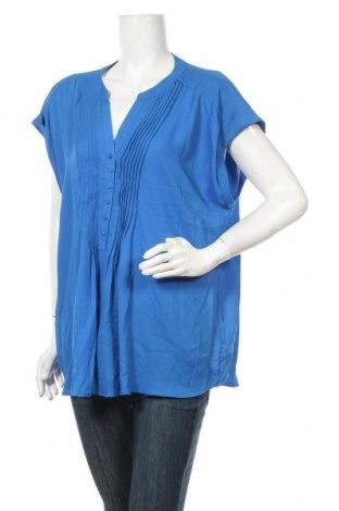 Γυναικεία μπλούζα Suzanne Grae, Μέγεθος XL, Χρώμα Μπλέ, Πολυεστέρας, Τιμή 3,18€