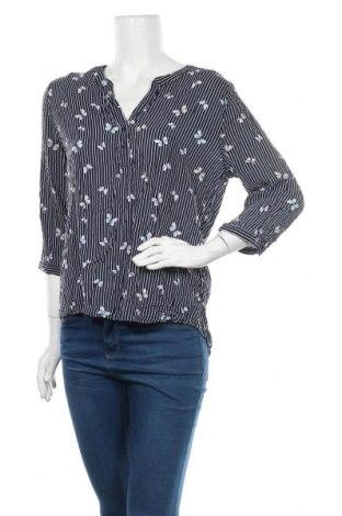 Дамска блуза Takko Fashion, Размер M, Цвят Син, Вискоза, Цена 12,50лв.