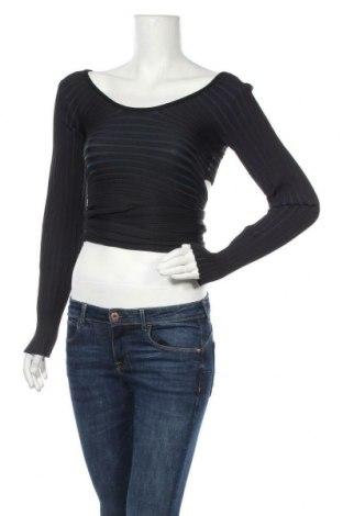 Дамска блуза Tibi, Размер S, Цвят Черен, Полиестер, Цена 103,05лв.