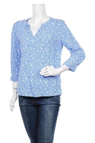 Γυναικεία μπλούζα Tom Tailor, Μέγεθος M, Χρώμα Μπλέ, Βισκόζη, Τιμή 11,43€