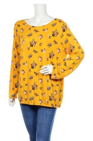 Γυναικεία μπλούζα Tom Tailor, Μέγεθος XXL, Χρώμα Κίτρινο, 95% βισκόζη, 5% ελαστάνη, Τιμή 11,07€