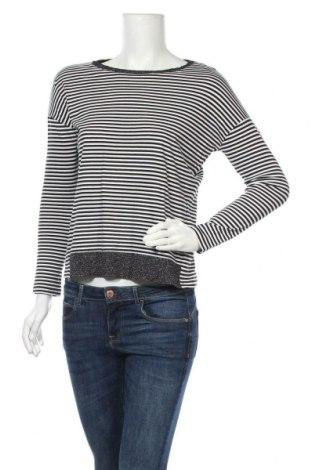 Γυναικεία μπλούζα Tom Tailor, Μέγεθος XS, Χρώμα Μαύρο, 50% βαμβάκι, 50% μοντάλ, Τιμή 11,43€