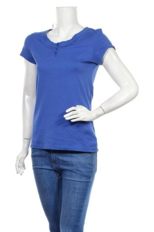 Γυναικεία μπλούζα Tom Tailor, Μέγεθος S, Χρώμα Μπλέ, Βαμβάκι, Τιμή 15,59€