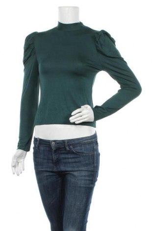 Γυναικεία μπλούζα Topshop, Μέγεθος M, Χρώμα Πράσινο, 93% βισκόζη, 7% ελαστάνη, Τιμή 13,68€