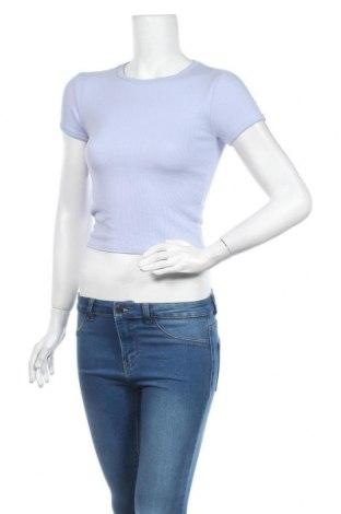 Дамска блуза Urban Outfitters, Размер S, Цвят Син, 48% памук, 48% вискоза, 4% еластан, Цена 29,25лв.
