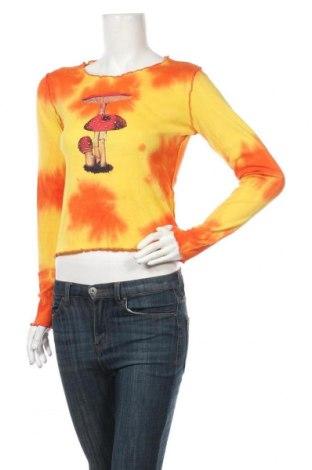 Дамска блуза Urban Outfitters, Размер M, Цвят Жълт, Памук, Цена 46,00лв.