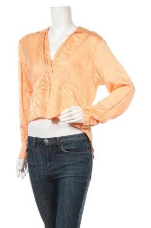 Дамска блуза Urban Outfitters, Размер L, Цвят Оранжев, Вискоза, Цена 9,30лв.