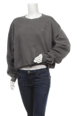 Дамска блуза Urban Outfitters, Размер L, Цвят Сив, 50% памук, 50% полиестер, Цена 44,25лв.
