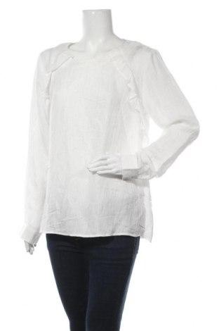 Дамска блуза Vrs Woman, Размер L, Цвят Бял, 76% вискоза, 24% полиамид, Цена 21,42лв.