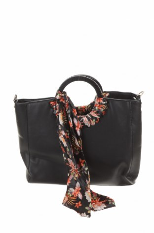Γυναικεία τσάντα, Χρώμα Μαύρο, Δερματίνη, Τιμή 15,43€