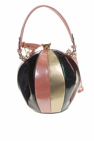Γυναικεία τσάντα, Χρώμα Πολύχρωμο, Δερματίνη, Τιμή 39,49€