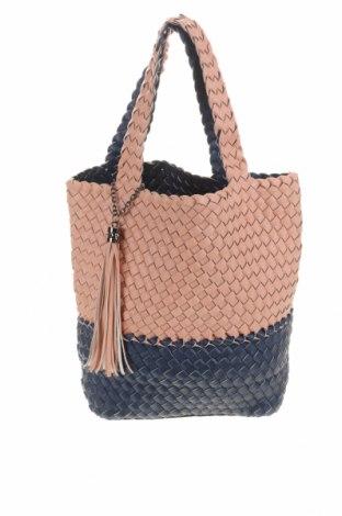 Γυναικεία τσάντα, Χρώμα Ρόζ , Δερματίνη, Τιμή 16,05€
