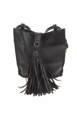 Дамска чанта Atmosphere, Цвят Черен, Еко кожа, Цена 16,91лв.