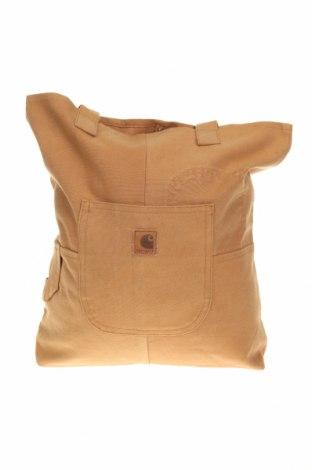 Geantă de femei Carhartt, Culoare Maro, Textil, Preț 170,23 Lei