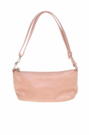 Γυναικεία τσάντα Coccinelle, Χρώμα Ρόζ , Γνήσιο δέρμα, Τιμή 69,77€