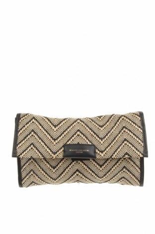 Дамска чанта Gianni Chiarini, Цвят Черен, Текстил, Цена 60,48лв.