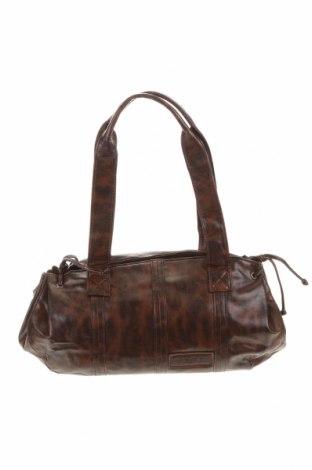 Γυναικεία τσάντα Manguun, Χρώμα Καφέ, Δερματίνη, Τιμή 7,27€