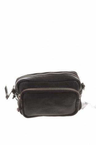 Γυναικεία τσάντα Topshop, Χρώμα Μαύρο, Γνήσιο δέρμα, Τιμή 26,68€