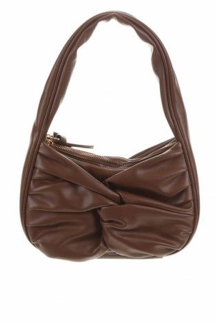 Γυναικεία τσάντα Topshop, Χρώμα Καφέ, Δερματίνη, Τιμή 22,81€