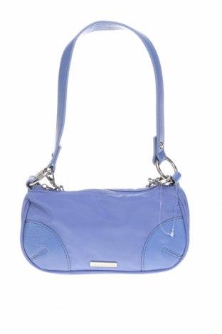 Дамска чанта Urban Outfitters, Цвят Син, Текстил, еко кожа, Цена 42,00лв.