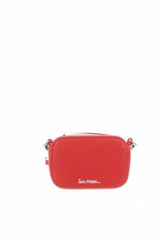 Дамска чанта Urban Outfitters, Цвят Червен, Еко кожа, Цена 14,70лв.