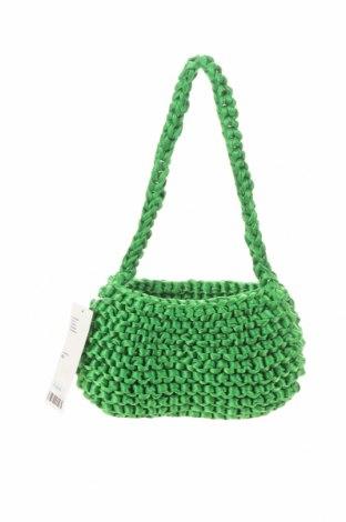 Geantă de femei Urban Outfitters, Culoare Verde, Textil, Preț 23,51 Lei