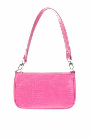 Дамска чанта Urban Outfitters, Цвят Розов, Еко кожа, Цена 14,85лв.