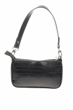 Geantă de femei Urban Outfitters, Culoare Negru, Piele ecologică, Preț 194,08 Lei