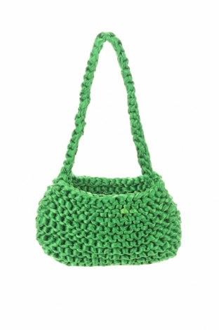 Дамска чанта Urban Outfitters, Цвят Зелен, Текстил, Цена 12,22лв.