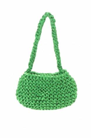 Дамска чанта Urban Outfitters, Цвят Зелен, Текстил, Цена 6,09лв.
