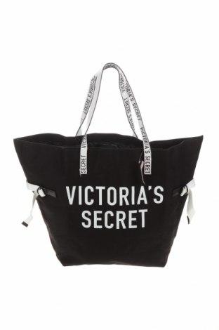Γυναικεία τσάντα Victoria's Secret, Χρώμα Μαύρο, Κλωστοϋφαντουργικά προϊόντα, Τιμή 30,23€