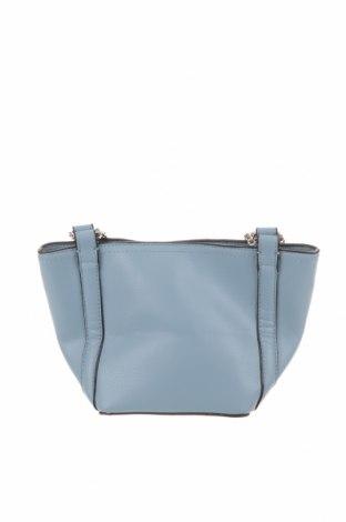 Дамска чанта Zara, Цвят Син, Еко кожа, Цена 41,90лв.