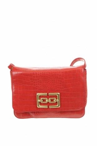 Дамска чанта Zara, Цвят Червен, Еко кожа, Цена 27,93лв.