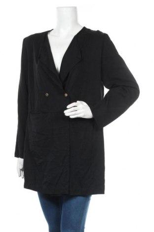 Дамска жилетка H&M Conscious Collection, Размер L, Цвят Черен, Лиосел, Цена 28,93лв.