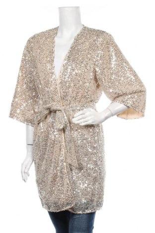 Γυναικεία ζακέτα Selected Femme, Μέγεθος S, Χρώμα  Μπέζ, Πολυεστέρας, Τιμή 32,48€