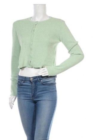 Cardigan de damă Urban Outfitters, Mărime L, Culoare Verde, 90% poliester, 10% poliamidă, Preț 194,90 Lei